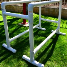Full-Size PVC Parallel Bars
